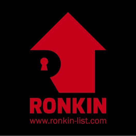logo ronkin - black